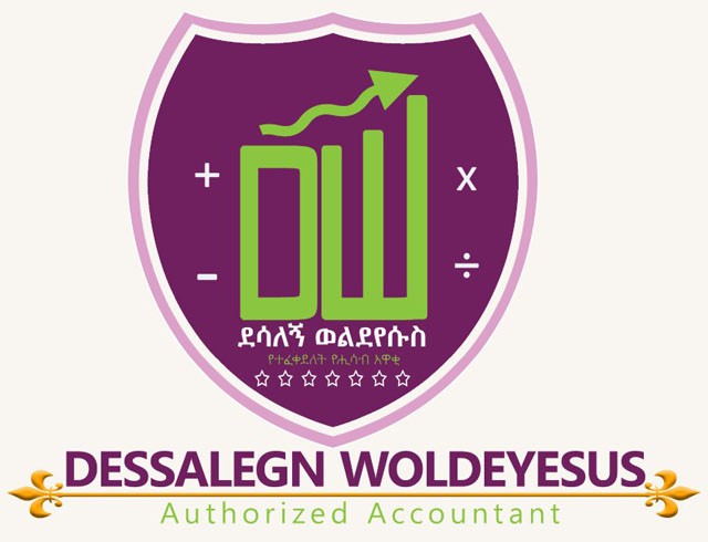 DESSALEGN WOLDEYESUSS AUTHORIZED ACCOUNTANT AND CONSULTING Logo