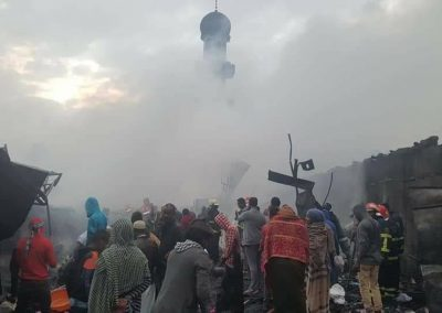 Anwar Mosque Addis Ababa Ethiopia Fire Accident June 28 2018 (2)
