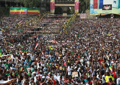 Dr abiy ahmed support rally mass demonstration mesqel square addis ababa ethiopia june 23 2018 3