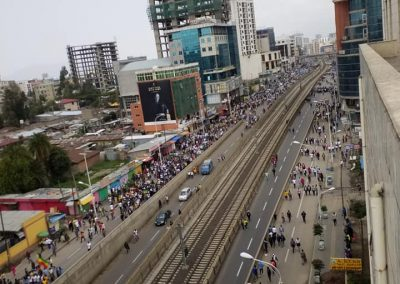 Dr abiy ahmed support rally mass demonstration mesqel square addis ababa ethiopia june 23 2018 5