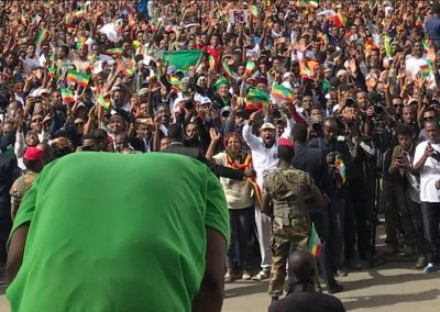 Dr abiy ahmed support rally mesqel square june 23 2018 bomb explosion 3
