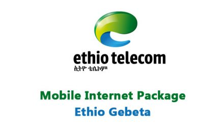 Ethio Telecom New Tariff for Mobile Internet Package – Monthly, Daily, Weekly, Night and Weekend EthioGebeta Packages