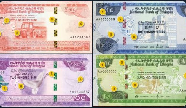 Ethiopia unveils new 200 birr note and updates the existing 100, 50 and 10 birr notes
