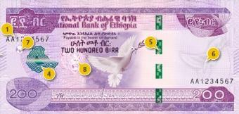 Ethiopia new birr notes 200 100 50 10 ኢትዮጵያ ብር አዲስ አዳዲስ አዲሱ ኖት (4)