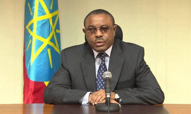 Prime Minister Hailemariam Dessalegn Tenders his Resignation