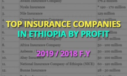 Best Private Insurance Companies in Ethiopia for 2019 / 2018 f.y