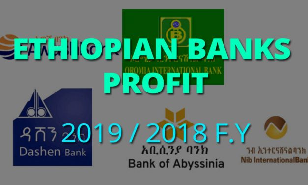 Most Profitable Ethiopian Private Banks for 2019 / 2018 Fiscal Year