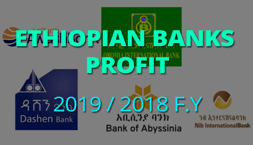 Most Profitable Ethiopian Private Banks for 2019 / 2018 Fiscal Year [Estimates]